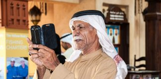 Man in Dubai